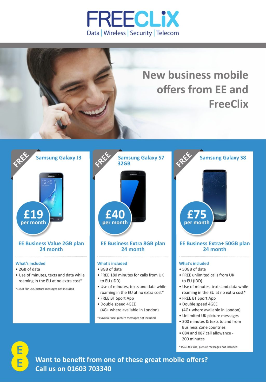 Ee deals for business