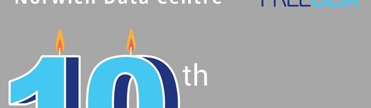 Norwich Data Centre marks 10th Anniversary